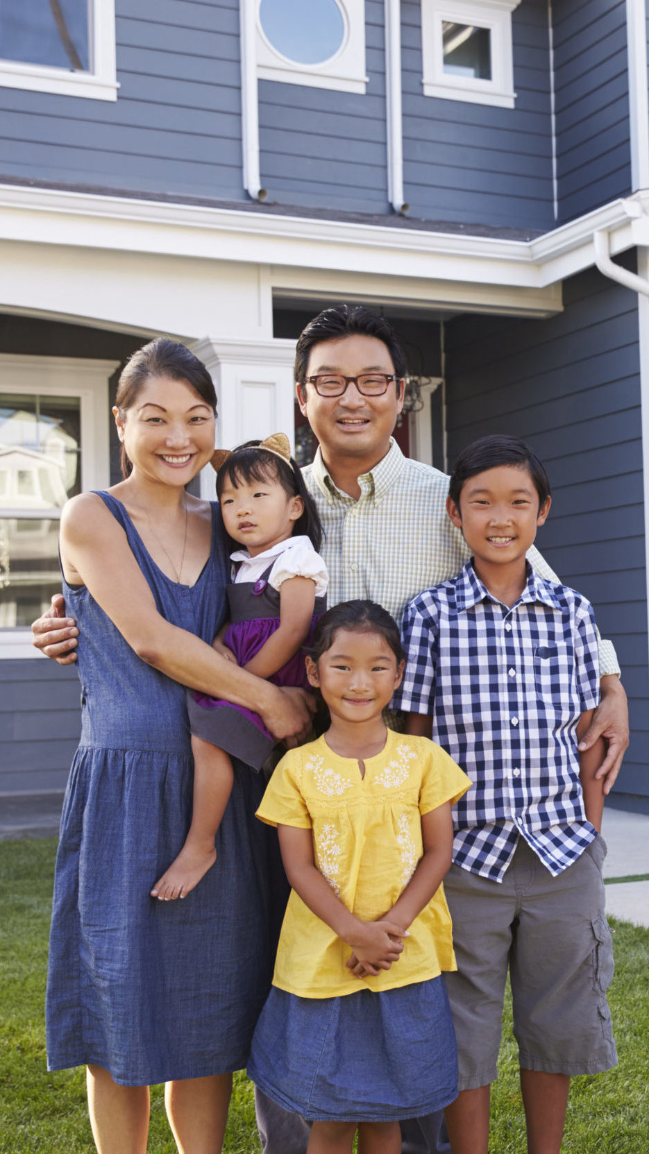 THE COMMUNITY INVESTMENT GUARANTEE POOL (CIGP) — family in front of home